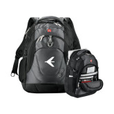 Wenger Swiss Army Tech Charcoal Compu Backpack-Embraer Bird