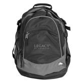 High Sierra Black Titan Day Pack-Legacy By Embraer