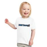 Toddler White T Shirt-Institutional Logos