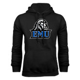 Black Fleece Hoodie-EMU w/ Lion Head