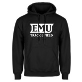 Black Fleece Hoodie-EMU Track & Field
