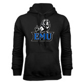 Black Fleece Hoodie-EMU w/ Full Lion