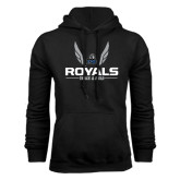Black Fleece Hoodie-Royals Track & Field w/ Wings