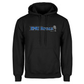 Black Fleece Hoodie-Institutional Logos