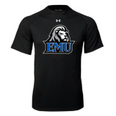 Under Armour Black Tech Tee-EMU w/ Lion Head