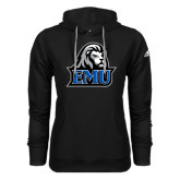 Adidas Climawarm Black Team Issue Hoodie-EMU w/ Lion Head