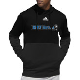 Adidas Black Team Issue Hoodie-Institutional Logos