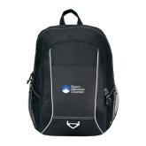 Atlas Black Computer Backpack-University Logo