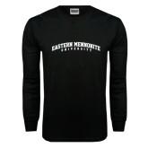 Black Long Sleeve TShirt-Eastern Mennonite University Arched