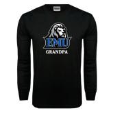 Black Long Sleeve TShirt-Grandpa