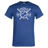 Royal T Shirt-Baseball Design