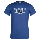 Royal T Shirt-Track & Field Design