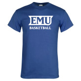 Royal T Shirt-EMU Basketball