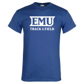 Royal T Shirt-EMU Track & Field