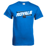 Royal T Shirt-Royals Slanted w/ Logo