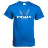 Royal T Shirt-Royals Track & Field w/ Wings