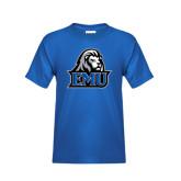 Youth Royal T Shirt-EMU w/ Lion Head