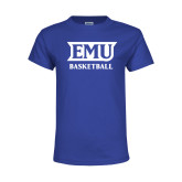 Youth Royal T Shirt-EMU Basketball