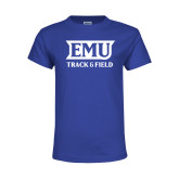 Youth Royal T Shirt-EMU Track & Field