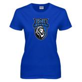 Ladies Royal T Shirt-EMU Royals Shield