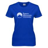 Ladies Royal T Shirt-University Logo