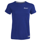 Ladies Russell Royal Essential T Shirt-Institutional Logos