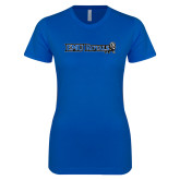 Next Level Ladies SoftStyle Junior Fitted Royal Tee-Institutional Logos