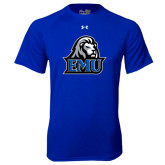 Under Armour Royal Tech Tee-EMU w/ Lion Head
