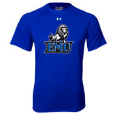 Under Armour Royal Tech Tee-EMU w/ Full Lion