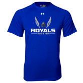 Under Armour Royal Tech Tee-Royals Track & Field w/ Wings