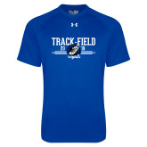 Under Armour Royal Tech Tee-Track & Field Design