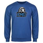 Royal Fleece Crew-EMU w/ Lion Head