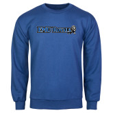 Royal Fleece Crew-Institutional Logos