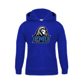 Youth Royal Fleece Hoodie-EMU w/ Lion Head
