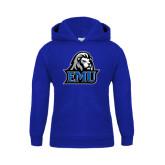 Youth Royal Fleece Hoodie-EMU w/ Lion Head