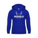 Youth Royal Fleece Hoodie-Royals Track & Field w/ Wings