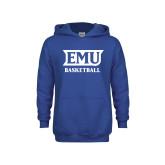 Youth Royal Fleece Hoodie-EMU Basketball