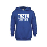 Youth Royal Fleece Hoodie-EMU Soccer