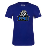 Adidas Royal Logo T Shirt-EMU w/ Lion Head