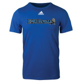 Adidas Royal Logo T Shirt-Institutional Logos