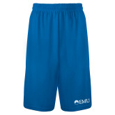 Performance Classic Royal 9 Inch Short-Institutional Logos