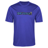 Performance Royal Heather Contender Tee-Institutional Logos