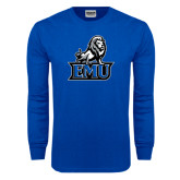 Royal Long Sleeve T Shirt-EMU w/ Full Lion