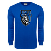 Royal Long Sleeve T Shirt-EMU Royals Shield