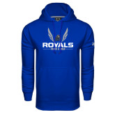 Under Armour Royal Performance Sweats Team Hoodie-Royals Track & Field w/ Wings