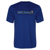 Performance Royal Tee-Institutional Logos