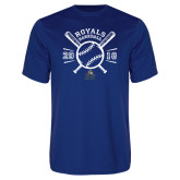 Performance Royal Tee-Baseball Design