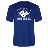 Performance Royal Tee-Softball Design