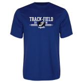 Performance Royal Tee-Track & Field Design