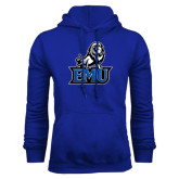 Royal Fleece Hoodie-EMU w/ Full Lion